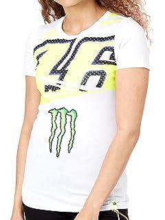 Vr46 Valentino Rossi Damen Monster Energy T Shirt Motogp Amazon De