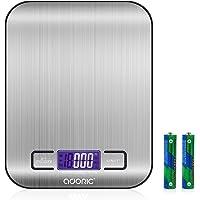 ADORIC Balance Cuisine Electronique Balance de Précision - Balance numérique de Cuisine de Haute Précision, 5kg/1g…