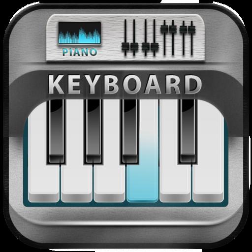 Top -Klavier-Tastatur (Klavier Ein Spiel)