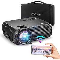 Bomaker Videoprojecteur WiFi 6000 Native 720p Le projecteur sans Fil Max 300 '' Compatible avec iPhone / Android Smart…