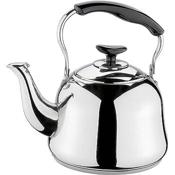 Edelstahl Kaffeekanne Teakettles Wasserkocher mit langem Auslauf Drip