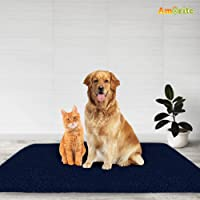 Amorite® Waterproof Reusable Washable Dog Bed Sheet for Bed Protector (50cm X 70cm) Dark Blue