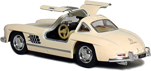 Kinsmart 1:36 Scale 5 1954 Mercedes Benz 300 SL Coupe, Color May Vary