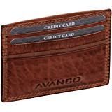 Leder Kreditkartenetui Rinderleder 21- (399D) Kreditkartenetui Kartenetui Neu