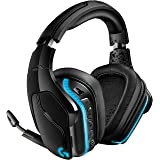 Logitech G935 Auriculares Gaming RGB Inalámbrico, Sonido 7.1 Surround,DTS Headphone:X 2.0,Transductores 50mm Pro-G, 2, 4GHz I