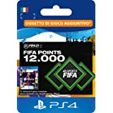 FIFA 21 Ultimate Team 12000 FIFA Points | Codice download per PS4 (incl. upgrade gratuito a PS5)- Account italiano