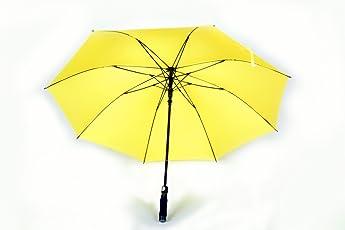 Shroff's Anchor Automatic Open Large Yellow Umbrella