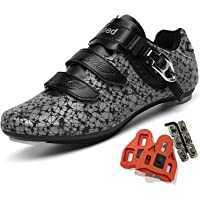 Cycling Shoes for Men Women Luminous Road Cycling Riding Shoes Peloton Shoes Breathable Cleat Compatible SPD Look Delta…