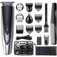 Hatteker Bartschneider Haarschneider Herren Haarschneidemaschine Haartrimmer Bartschneider Bart Trimmer Nasentrimmer…
