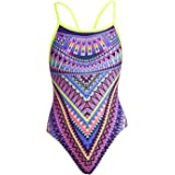 Funkita Girls' Charm Armour swimsuit made from chlorine-resistant material