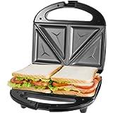 Macchina per sandwich tostapane, piastre antiaderenti rimovibili, Sandwich Maker manici Cool Touch, 750 W, indicatori…