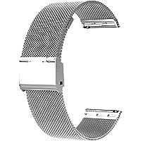 Bracelet de Montre Metal pour Homme Femme,Bracelet de Montre pour Montre Connectée et Montre Traditionnelle Dégagement…