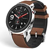 """Amazfit GTR Smartwatch, Smart Notifications, 1.39"""" AMOLED Display, 24/7 Heart Rate Monitor, 24-Day Battery Life, 12-Sport Mod"""