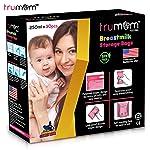 Trumom Breastmilk Storage Bags, Pink, 30 Bags