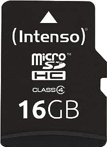 Intenso Micro Sdhc 16gb Class 4 Speicherkarte Inkl Computer Zubehör