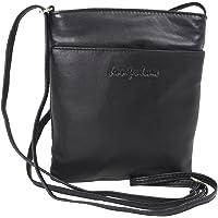 Kleine Jennifer Jones Taschen Damen 100% Leder Damentasche Handtasche Schultertasche Umhängetasche Tasche klein…