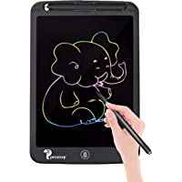 Proffisy Colourful Screen LCD Writing Tablet 8.5 Inch Color Line E-Writing Electronic Board and Scribble MeMO Notes with 2 Magnet for Kids and Adults at Home,School and Office Multicolor (Black)