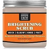 Barbers Crew Premium Neck-Elbow & Knee-Feet Brightening Scrub For Reduces Blackness Of Neck, Elbo & Feet for all Body skin ty