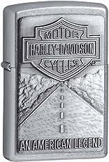Zippo 20229 Classic American Legend Emblem Lighter (Silver)