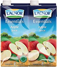Lacnor Essentials Apple Juice - 1 Litre (Pack of 12)