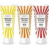 La protection solaire respectueuse de l'environnement d'Omuci Nothing To Hide. Des ingrédients naturels adaptés pour les végétaliens. Protection UVA + UVB.