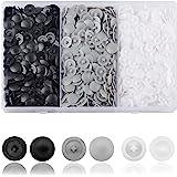 DesertBoy Ongeveer 900 stks pozi schroef wit Plastic Schroefdop Scharnierende Fit 7-8 mm kruiskopschroef (zwart, wit, grijs)