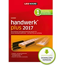 Lexware handwerk plus 2017 Download Jahresversion (365-Tage) [Download]