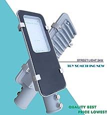 Aster LED Aluminium Die Cast Outdoor Waterproof Street Light (White, 24 Watts)