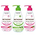 Betadine Body Wash Pomegranate, Tea Tree Oil and Pomegranate 500ml (1+2 FREE)