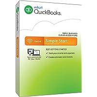 QuickBooks Online Simple Start, 12-Month Subscription (Mac/PC)