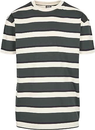 Urban Classics Men's Oversized Block Stripe Tee T-Shirt