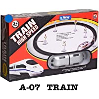 Bingo TS Play Presents Good Quality High-Speed Battery Operated Train Set for Kids (Small Metro)
