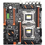 MYA - Placa base doble servidor X79 2011 Pin E5 doble placa base CPU, M.2 Desktop Mainboard X79 Dual CPU LGA2011 Motherboard