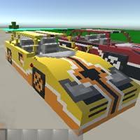 Pixel Cars War