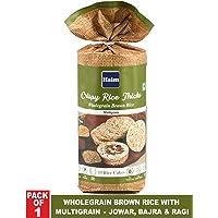 HAIM Organic Crispy Rice Thicks Wholegrain Brown Rice Cake with Multigrain - Jowar, Bajra and Ragi (Pack of 1)