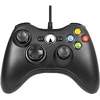 Manette Xbox 360 filaire noir Manette USB compatible PC