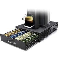 HiveNets Nespresso Vertuoline Porte Dosette de Café Support de Capsule Rangement Tiroir pour 40 Coffee
