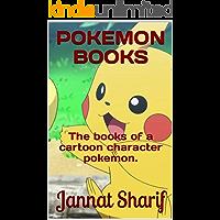 POKEMON BOOKS: The books of a cartoon character pokemon.