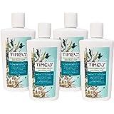 Timely, balsamo idratante e ammorbidente per capelli secchi e crespi, confezione da 4 x 300 ml