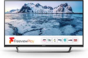 Sony Bravia KDL32WE613 (32-Inch) HD Ready HDR Smart TV (X-Reality PRO, Slim and streamlined design) - Black