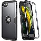 YOUMAKER Coque iPhone Se 2020, Protection iPhone Se Antichoc et Rubuste, Coque iPhone Se avec L'écran Intégré, Adaptée pour i