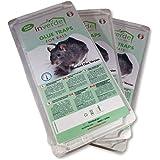 NUISIPRO Piège à Colle, 3 Lots = 6 plaques Plastique de glu Anti Rat et Anti Souris
