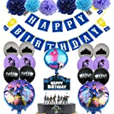 BESLIME Artículos de Fiestas para Fanáticos de los Videojuegos Decoraciones para Cumpleaños de Tema de Videojuegos con Globos