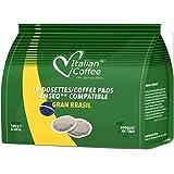 Senseo Capsulas Compatibles 180 ud (10 x18 Monodosis) Café 100% Arabica Brasil