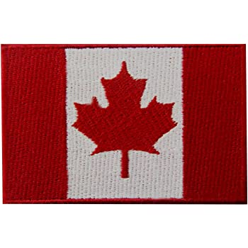 Canada Flag Embroidered Patch Canadian Maple Leaf Iron On Sew On National  Emblem 5aa56cdabf8a