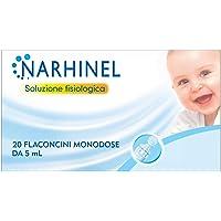 NARHINEL Soluzione Fisiologica 20 Flaconcini Monodose di Soluzione Salina Isotonica Sterile per una Delicata Detersione…
