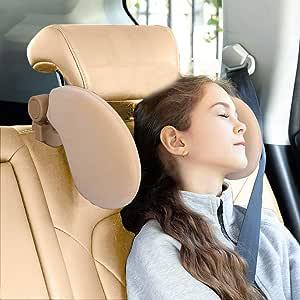 Auto Kopfstütze Kissen Soft Velvet Verstellbare Kopf Nacken Unterstützung Reise Schlafkissen Für Kinder Erwachsene Älteste Baumarkt