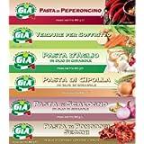 GIA pacco da 6 tubetti misti (Pasta di Peperoncino, Verdure per Soffritto, Pasta d'Aglio, Pasta di Cipolla, Pasta di…
