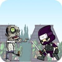 Ninja versus Zombie