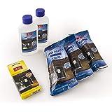 Melitta 6er Pflegeset für Kaffeevollautomaten und Espressomaschinen | 3x ProAqua Wasserfilter | 2x Flüssigentkalker Anti…